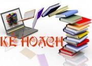 Kế hoạch kiểm tra học kỳ 1 cấp THCS, năm học 2019-2020